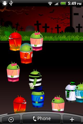 Free Mini Droid City Live Wall