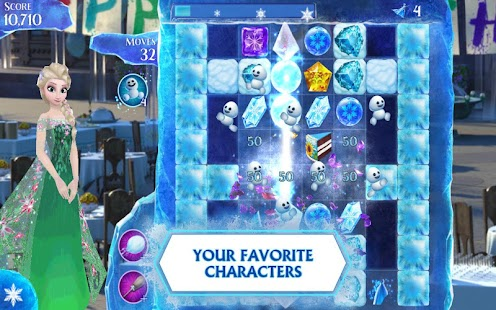 Game Frozen Free Fall version 2015 APK