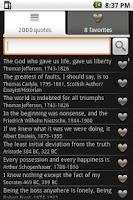 Screenshot of Inspiring Quotes