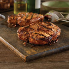 Grilled Bone-In Pork Chops With Hawaiian Marinade