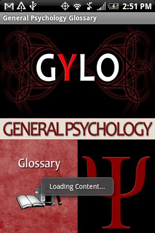 General Psychology Glossary