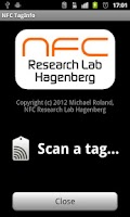 Screenshot of NFC TagInfo