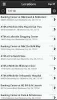 Screenshot of MidFirst Bank Mobile