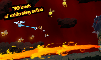 Screenshot of Rayman Jungle Run