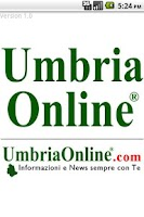 Screenshot of Umbria OnLine