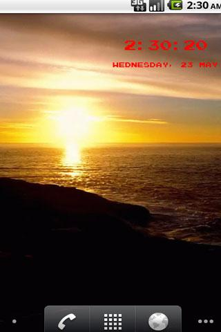 Sunset 3d Wallpaper 1