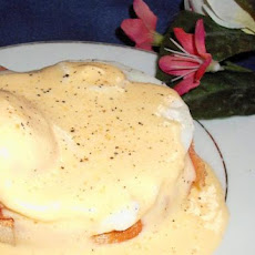 Eggs Benedict for Two - With Smoked Salmon