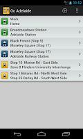 Screenshot of Go Adelaide