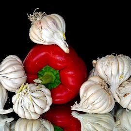 red n white by Asif Bora - Food & Drink Ingredients (  )