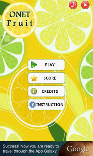 onet-fruit for android screenshot