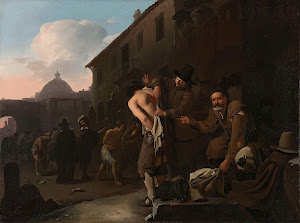 RIJKS: Michael Sweerts: Clothing the Naked 1649