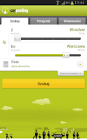 Screenshot of carpooling.pl