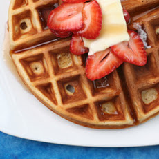 Buttermilk and Brown Butter Waffles Recipe