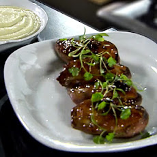 Honey-glazed Duck Breasts with Apple Sauce