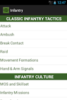 Screenshot of Infantry