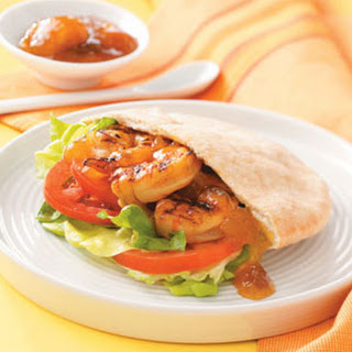Chickpea, Shrimp, And Chorizo Pita Sandwiches Recipes — Dishmaps