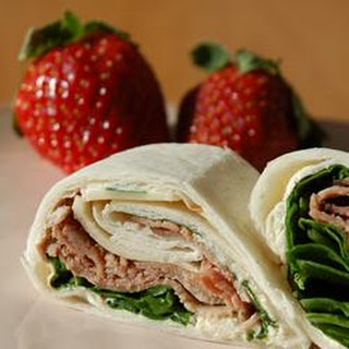 Deli Meat Tortilla Rollup Appetizer Recipes