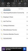 Screenshot of Truck Mount Forums