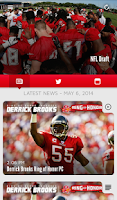 Screenshot of Tampa Bay Buccaneers Mobile
