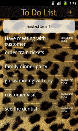 To-do List leopard reminders