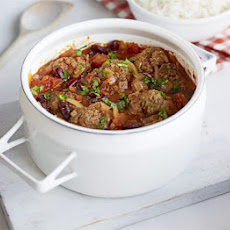Smoky Mexican meatball stew