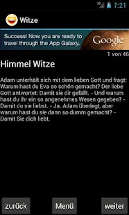 Witze - screenshot