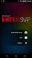 Screenshot of Xperia™ Motion Snap