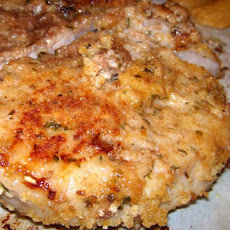 Breaded Pork Chops - From the Oven