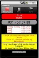 Screenshot of Pizzahuset
