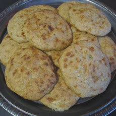 Cheezy Zucchini Yogurt Biscuits