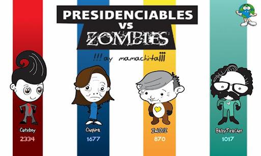 Presidenciables vs Zombies Lit