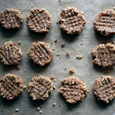 Raw, Vegan, Peanut Butter Cookies