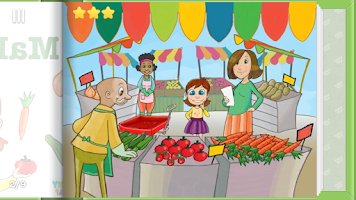Screenshot of Making Salad - Kids Recipes