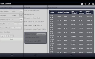 Screenshot of LS Financial Suite