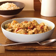 Curry with Pork and Peppers