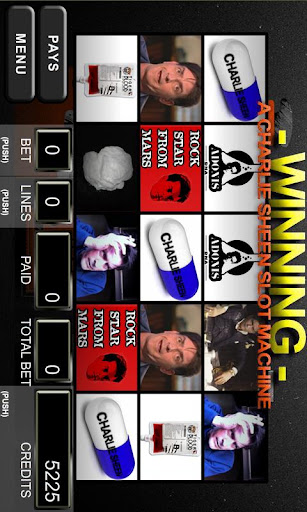 Winning - A Charlie Sheen Slot