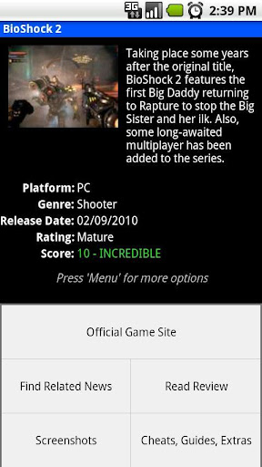 game-encyclopedia for android screenshot