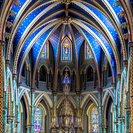 Easter Weekend by Guy Théroux - Buildings & Architecture Places of Worship ( notre-dame, ottawa, cathedral, architecture, worship )