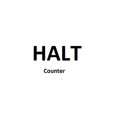 HaltCounter LOGO-APP點子