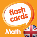 Math flashcards, NUMBERS icon