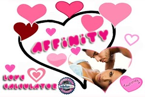 Screenshot of AFFINITY LOVE MATCH