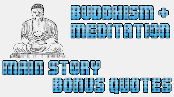 Screenshot of Buddhism & meditation