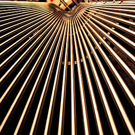 Steel Bench by Faiz Mohammed - Artistic Objects Other Objects