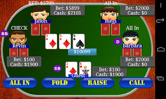 Screenshot of Texas Holdem Poker Bil