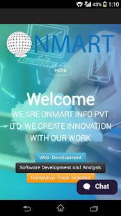 Onmart Private Limited Web App - screenshot