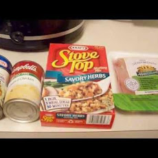Crock-Pot Chicken and Stuffing (5 Ww Points)
