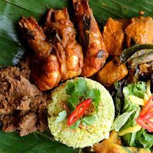 Malaysian Banana Leaf Meal with Chef Norman Musa