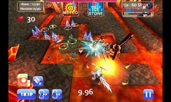 Screenshot of MonsterDefense3D