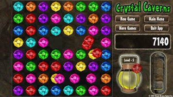 Screenshot of Crystal Caverns - FREE
