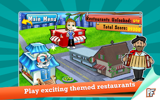 Screenshot of Cooking Dash Deluxe